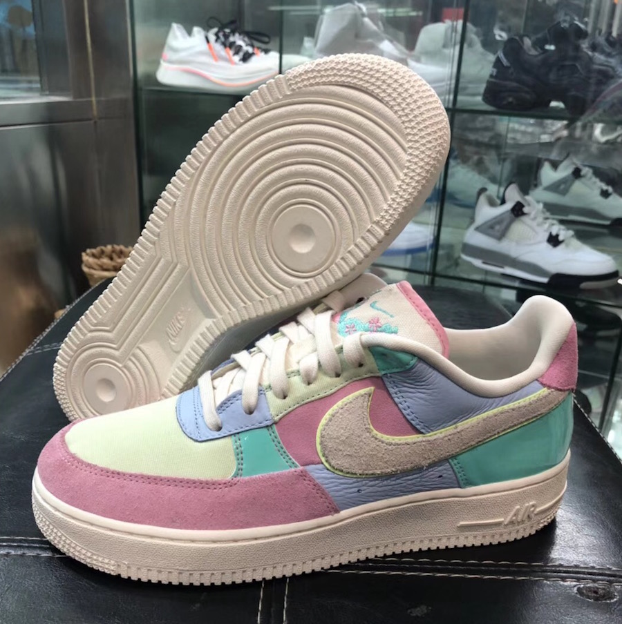 Nike Air Force 1 Easter egg 2018